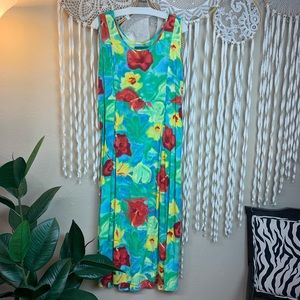 Jams World Midi Length Sleevelss Dress Size L/XL